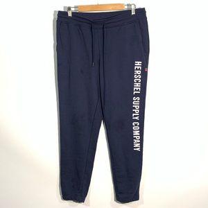 Herschel supply co fleece joggers sweatpants